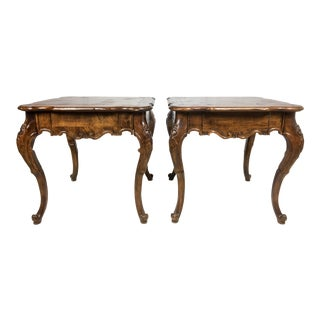 Pair of Baker French Style Side Tables