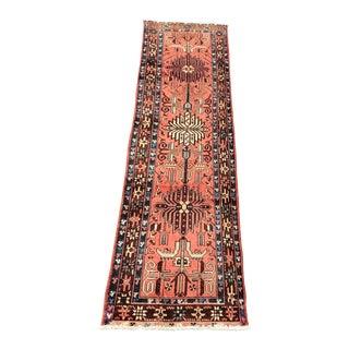 Vintage Persian Ardebil Runner - 3' x 11'