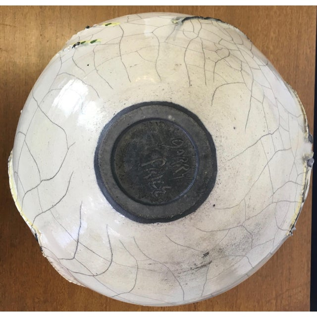 Abstract Studio Pottery Vase - Image 10 of 11