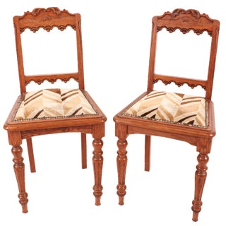 Spanish Side Chairs - A Pair