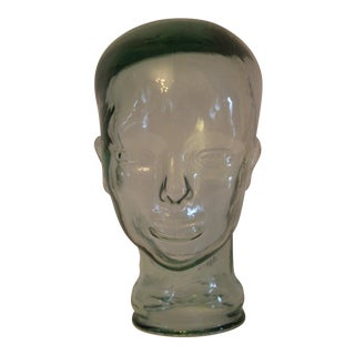 Decorative Clear Glass Head