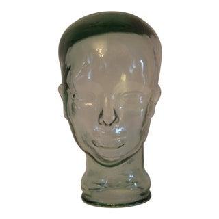 Decorative Clear Glass Head