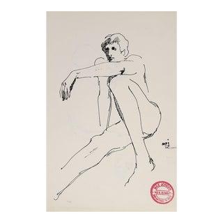 Pen & Ink Nude Study
