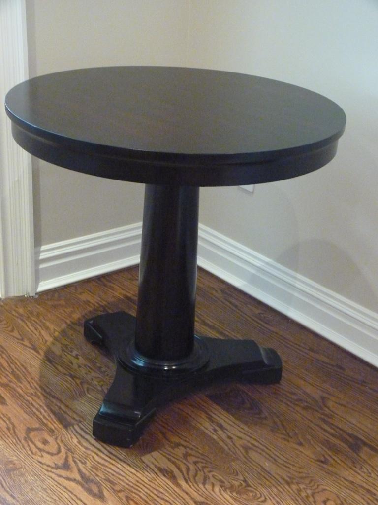 Restoration Hardware Portman Pedestal Table   Image 2 Of 4