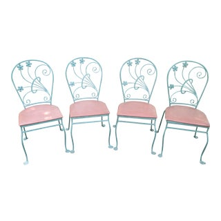 "Salterini ""Dogwood"" Chairs- Set of 4"