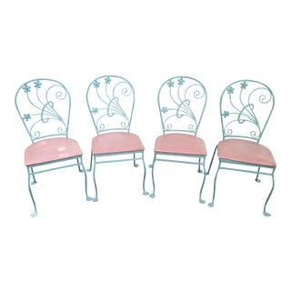 "Salterini ""Dogwood"" Chairs- Set of 4"