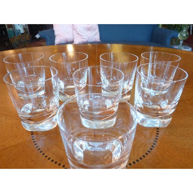 Heavy Glass Short Rocks Glasses - Set of 8 - Image 6 of 6
