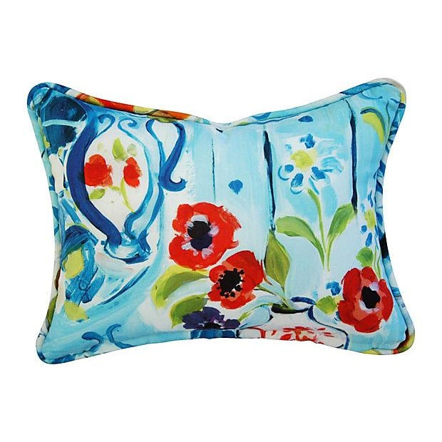 Designer Ronnie Gold Cezanne Style Pillows - Pair - Image 6 of 7