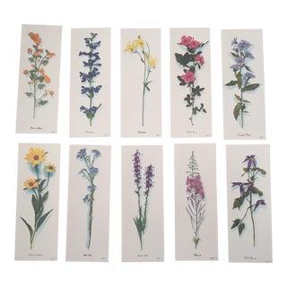 Harrison R. Crandall Wildflower Prints - Set of 10