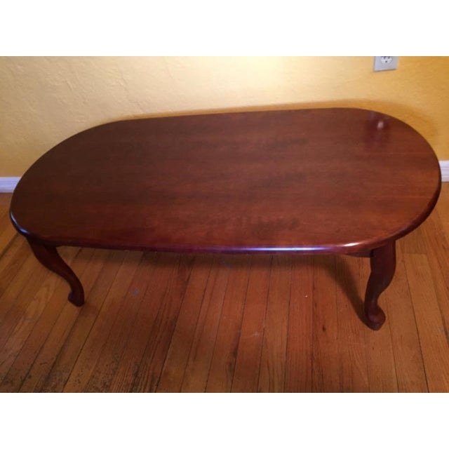 Vintage Traditional Wooden Coffee Table - Image 2 of 3