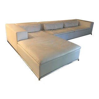 DS-7 for De Sede Modular White Leather Sectional by Antonella Scarpitta