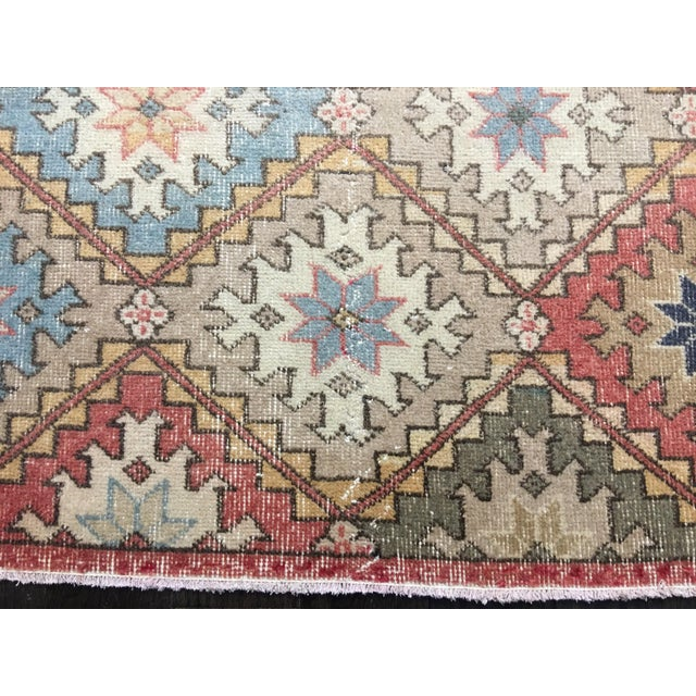 "Bellwether Rugs Vintage Turkish Zeki Muren Rug - 6'6""x10' - Image 4 of 9"