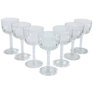 French Sherbert Glasses - Set of 7