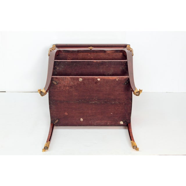 Louis XV Style Small Writing Desk / Table by Alfred Emmanuel Louis Beurdley - Image 9 of 11