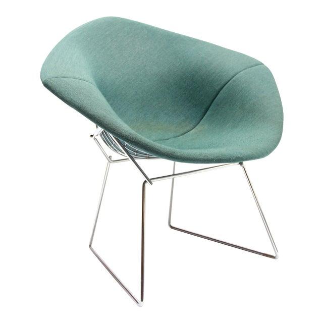vintage knoll bertoia diamond chair chairish. Black Bedroom Furniture Sets. Home Design Ideas