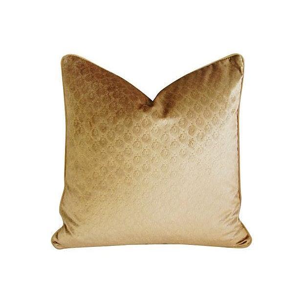 Custom French Pierre Frey Velvet Pillows - A Pair - Image 7 of 7
