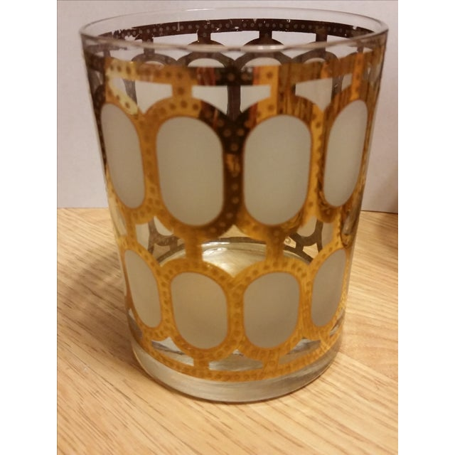 Cera Glass Old Fashioned Tumblers - Set of 4 - Image 5 of 8