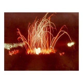 1970s Fireworks Photograph
