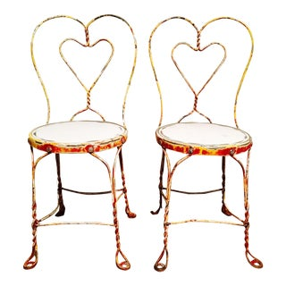 Sweetheart Barn Style Parlor Chairs- A Pair