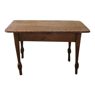 Antique Pine Top Farm Table