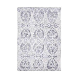 Safavieh Grey Wool Ikat Rug - 8' x 10'