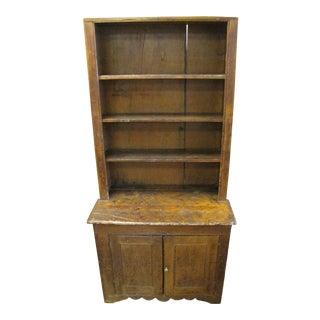 Antique Primitive Shelf Cabinet