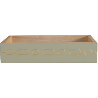 Selamat Designs Norma Amenity Taupe Tray