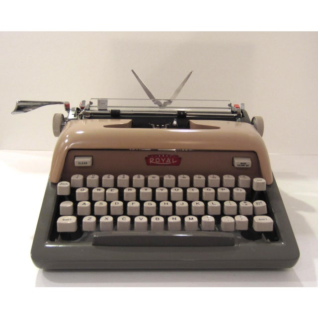Image of Mid-Century Royal Futura 800 Typewriter