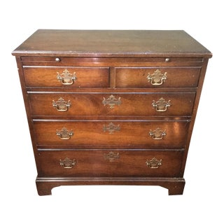 Traditional Georgian Style 4 Drawer Chest
