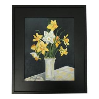 Daffodils on Display Original Painting