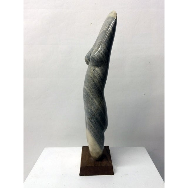 Vintage Female Nude Marble Sculpture by John Cody - Image 3 of 7