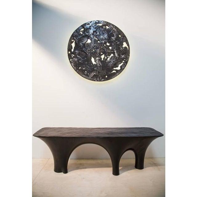 'IO Moon' Light Sculpture - Image 6 of 8