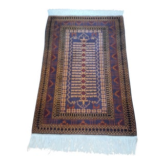 "Persian Shiraz Hand-Knotted Oriental Wool Rug - 35"" x 58"""