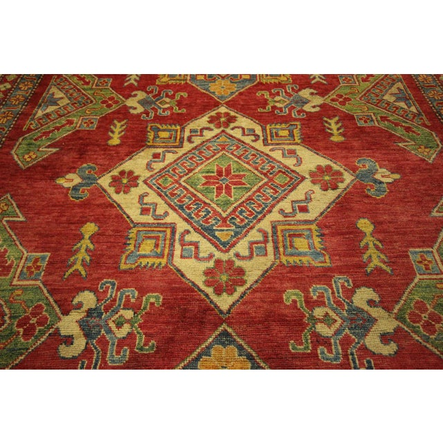 Image of Super Kazak Area Rug Red - 8' x 11'