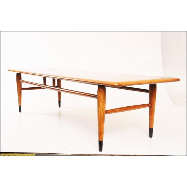 Vintage 71 Mid Century Modern Lane Danish Style Surfboard: Lane Acclaim Mid-Century Modern Coffee Table