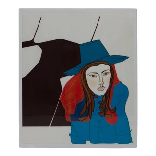 """Si Don Juan Fur Mujer"" Drawing by Gabriela Valenzuela-Hirsch"