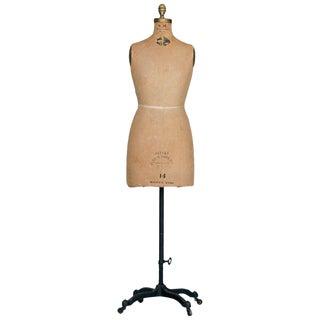 Dress Form Mannequin with Original Hardware