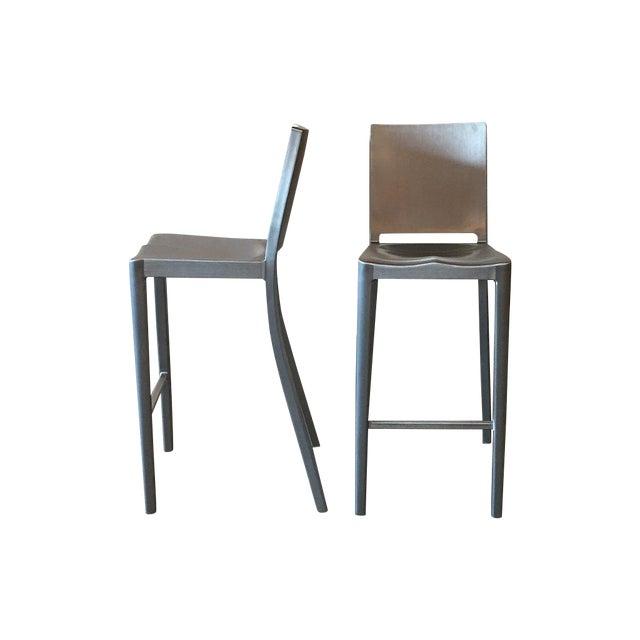 Philippe Starck Emeco Hudson Bar Stools - A Pair - Image 1 of 5