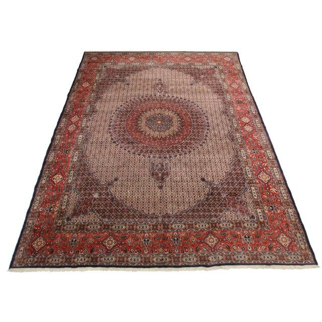 Rugsindallas Vintage Persian Design Wool Area Rug: RugsinDallas Vintage Hand Knotted Wool Persian Mood Rug