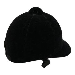 Vintage Black Riding Helmet