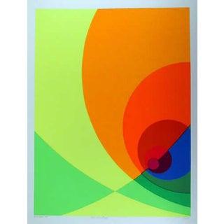 "1980 Herbert Aach ""Split Infinity #B6s"" Print"