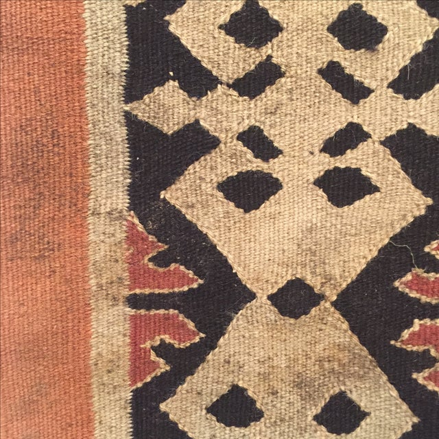 Image of Neutral Tone Kilim Rug - 5′5″ × 8′