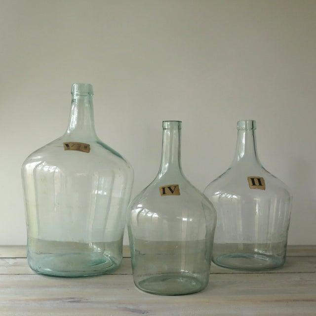 Vintage Green Glass Demijohn Bottle - Image 8 of 9