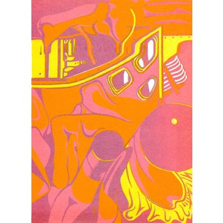 Maurice Henry-Untitled composition-1967 Lithograph