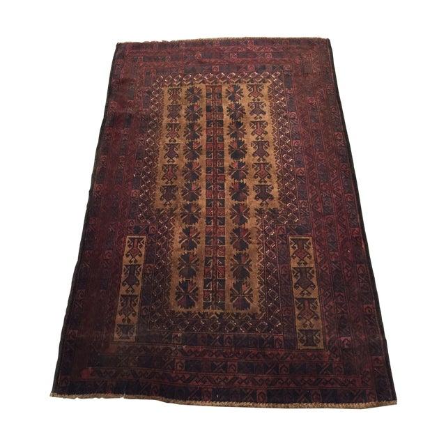 Vintage Persian Rug - 3' x 5' - Image 1 of 8