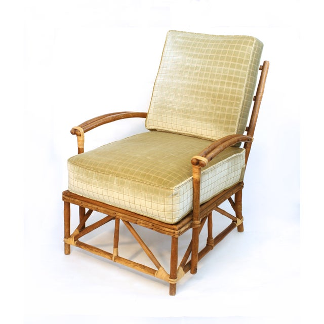 Image of Rattan Lounge Chair