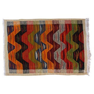 Moroccan Berber Kilim - 3'6'' x 2'