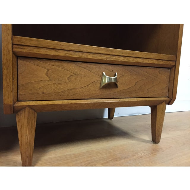 Brasilia Style Nightstands - a Pair - Image 10 of 11