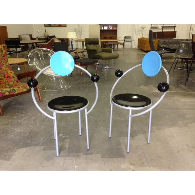 Michele De Lucchi Memphis First Chairs - Pair - Image 6 of 9