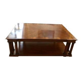 Henredon Massive Mahogany Cocktail/Coffee Table